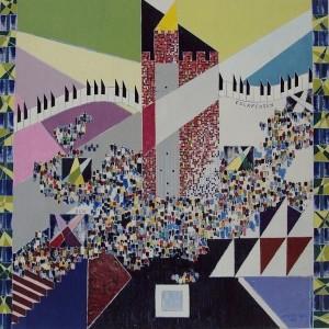 FOLKFESTEN-Veronika Wifvesson-Fineartgicleé,50x50
